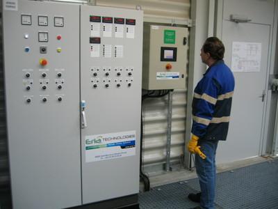 armoire de commande dépôt pétrolier réalisée par erla technologies -- Cliquez pour voir l'image en entier