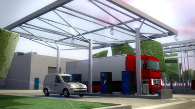 conception station service privative gasoil fuel erla technologies -- Cliquez pour voir l'image en entier